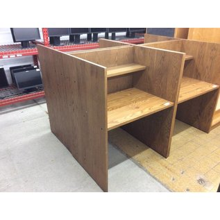 "28x35 3/4""x49"" Wood study carrol"