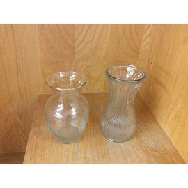 Large glass Flower Vase