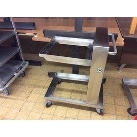 "Servolift tray cart for 20x20"" trays"
