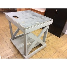 36x31x36 1/4 Wood work table