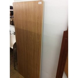 "30x72"" Wood laminate table top"