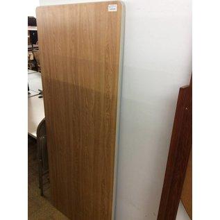 "30x72"" Wood laminate table top"