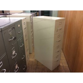 Beige 4-drawer File Cabinet (6/11/18)