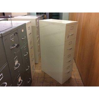 Beige 4-drawer File Cabinet