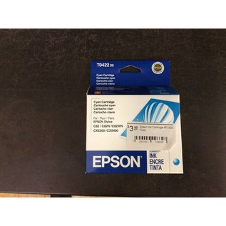 Epson Ink Cartridge #T0422 Cyan