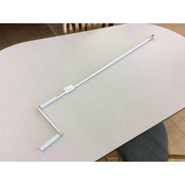 "58"" Projector screen lowering crank handle"