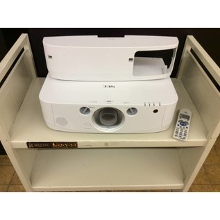 Nec PA550W Projector without lens (817 lamp hours used)
