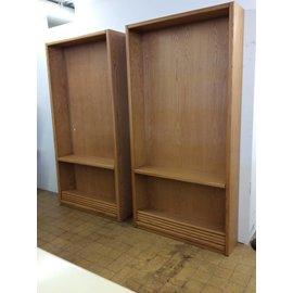 """12x48x96 1/4"""" wood book shelves"""