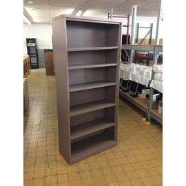 "15x36x81 3/4"" Mauve metal bookcase"