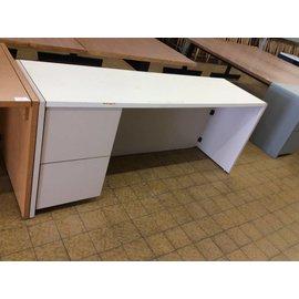 20x71x30 Beige wood L/pedestal credenza