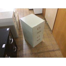 18x15x29  Beige 2 drawer file cabinet