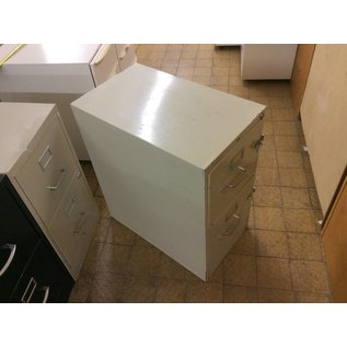 25x15x29 Beige 2 drawer file cabinet (9/19/18)