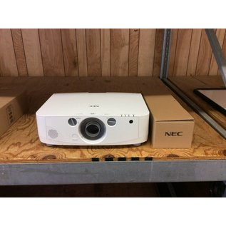 Nec PA550W Projector without Lens (2366 lamp hours used)