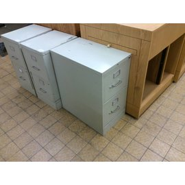 25x15x29 Beige 2 drawer file cabinet (6/6/18)