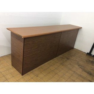 23x120x41 Wood counter