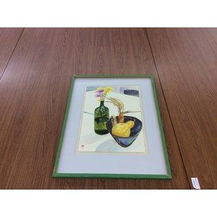 Flower & Bowl Framed Artwork