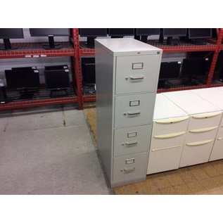 Lt gray 4 drawer vertical file cabinet (10/29/18)