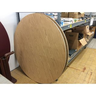 """60"""" Wood top folding Round table"""