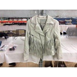 Blank NYG Women's Leather Jacket size M
