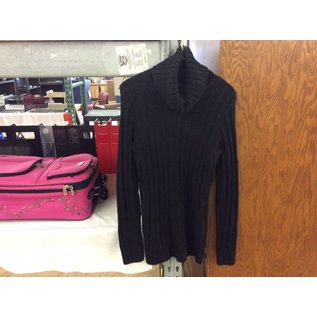 The Limited Girls Black Turtle Neck Sweater size M