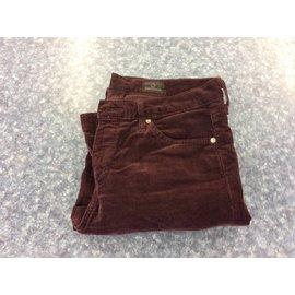 Maroon Girls Brand AG Pants
