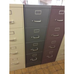 Gray 4 drawer filling cabinet