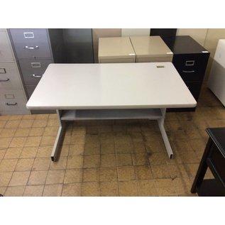 "30x48x27"" Gray computer table (6/6/18)"
