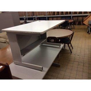 30x48x27 gray computer table