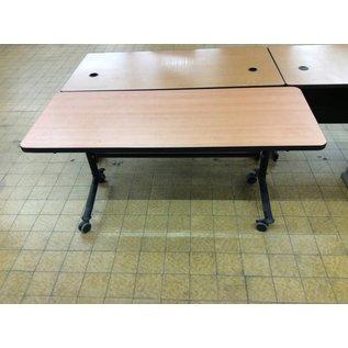 24x59 3/4x28 Seminar table on castors