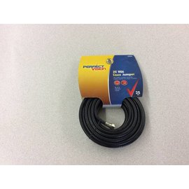 25' RG6 Coax Jumper Cable
