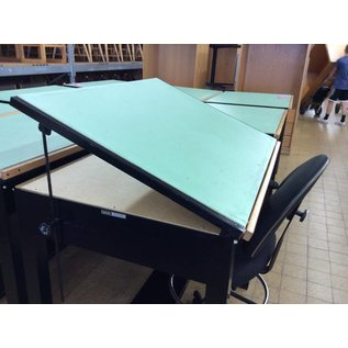 Drafting Table 31x42x37 1/4 metal base