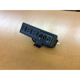 Mountable 3 outlet  power adapter