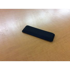 Gel wrist rest for a mouse pad