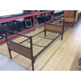 """80"""" Twin metal bed frame"""