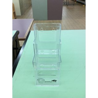 3 Tier Grade school brochure holder