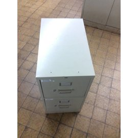 25x15x29 Beige 2 drawer filing cabinet
