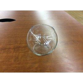 Medium glass vase