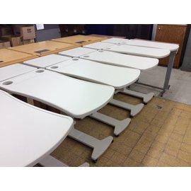 Plastic top metal/plastic frame Hospital bedside tables
