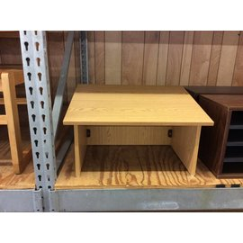 """18x24x14"""" Wood table top lecturn"""