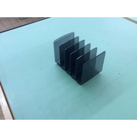 5 slot Plastic file holder