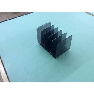5 slot Plastic file holder