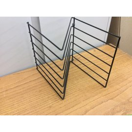 Z shaped file holder