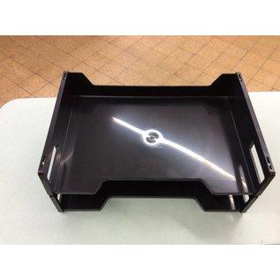 2 tier black  paper tray (10/8/18)