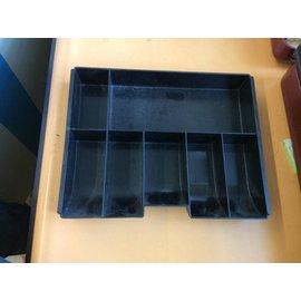Cash box insert tray