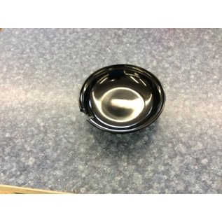 """Black 6"""" Dipping bowl (pack of 4)"""