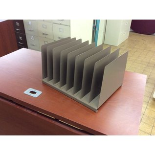 8 slot metal file sorter