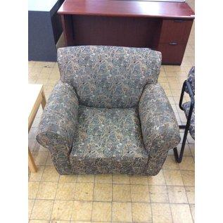Multi pattern living room chair