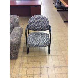 Multi pattern side chair