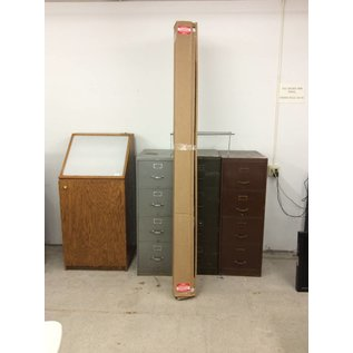 8ft White Projector Screen (New)