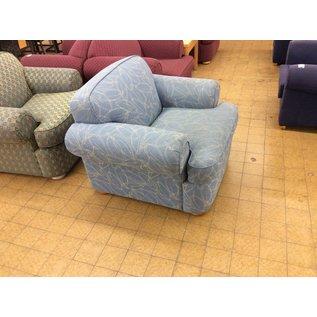 LT Blue living room chair